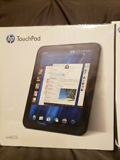 New Sealed HP TouchPad FB359UA 32GB, Wi-Fi, 9.7in - Glossy Black w/2 New Cases