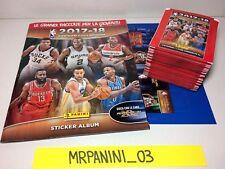 NBA 2017-18 2018 Panini - ALBUM VUOTO + 50 BUSTINE OMAGGIO Figurine-stickers