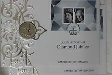 2 consecutive  2012 PNC 5 POUND QUEEN ELIZABETH II DIAMOND JUBILEE (SC5)