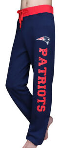 Women's New England Patriots Super Fans Printed Pants Casual Sweat Pants