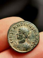 Constantin II, superbe nummus Thessalonique 324 CAESARVM NOSTRORVM VOT X TSBVI !