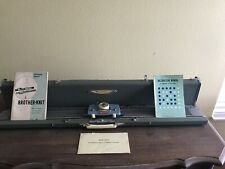 Vintage Brother Knit Knitting Machine Kh-311 With Extras!