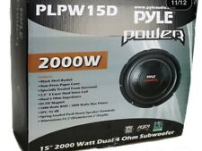 Pyle PPA15 15in. Car Subwoofer With Box