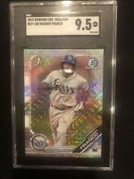 2019 Wander Franco Bowman Chrome Mega Box Refractor Rookie RC SGC 9.5 Mint +