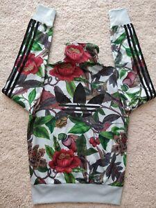 Adidas Originals Battle Of Birds Track Top Jacket Hype Floral Jumper Firebird