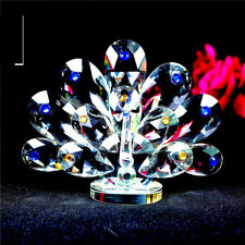 CRYSTAL PEACOCK ORNAMENTS CRYSTOCRAFT BEAUTIFUL MULTY COLOURS NEW BRAND_UK SELL