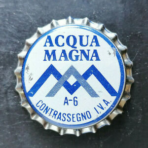Acqua Magna Pisa tappo acqua water bottle cap chapa agua Kronkorken