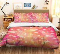 3D Christmas  Xmas 15 Bed Pillowcases Quilt Duvet Cover Set Single Queen King AU