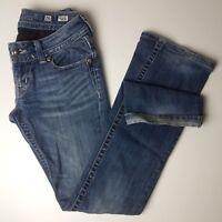 Miss Me Northern Lights Boot Cut Denim Jean Dark Wash JP5124B10 Size 26