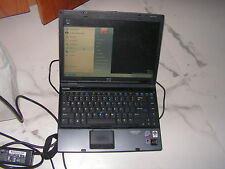 Compaq 9610P Laptop Computer Intel Core 2 Due T7700 2.4Ghz 1Gb RAM 120Gb HDD