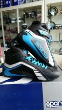 SCARPE KART SPARCO SCORPION BLACK/BLUE EU 37 KARTING BOOTS SHOES - SCHUHE KART
