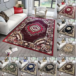 Luxury Non Slip Traditional Rugs Imperial Hallway Runner Rugs Living Room Carpet