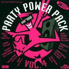 PARTY POWER PACK (1995) 4: Rufus & CHAKA KHAN, Hooters, Cyndi Lauper, [CD DOPPIO]