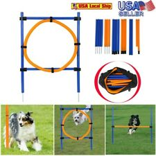 Dog Outdoor Game Agility Exercise Training Equipment-hurdle obedience training