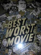 Tyler Stout Best Worst Movie Poster Variant Limited Edition Silkscreen Print
