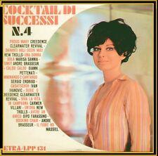 """COMPILATION """" COCKTAIL DI SUCCESSI N.4 """" LP NUOVO CETRA LPP131 1969"""