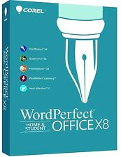 Corel WordPerfect Office X8 Home and Student for 3 PCs ✔NEW✔