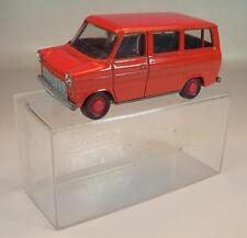 Schuco 1/66 Nr. 311912 Ford Transit Bus rot OVP #242