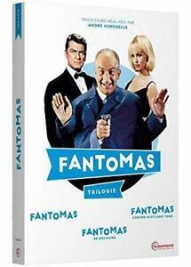 "DVD "" Fantomas: Trilogy Louis Di Funes Nuovo Imballato"