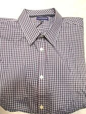 Jeremy Argyle of NYC Black  Checked Sport Shirt NWT XL Tailored Fit $148