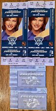 4 nashville predators 1st season tickets MARTINA MCBRIDE PIC V sharks HABS canuk