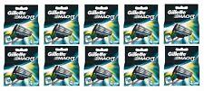 40 x Gillette Mach 3 Lames (10 x Lot de 4) - Véritable Stock