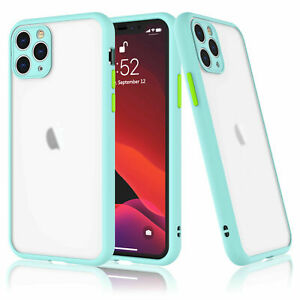 iPhone 12 11 Pro Max 8 Plus 7 XS Max XR Shockproof Clear Hard Phone Case Cover