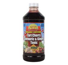 Dynamic Health Organic Certified Tart Cherry with Tumeric & Ginger Tonic 473ml