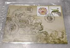 2012 龙年 Chinese Lunar New Year - Serbia Dragon 2v Stamp FDC