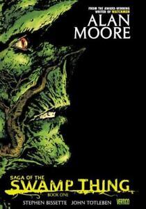 Saga of the Swamp Thing by Alan Moore (2012, Trade Paperback)