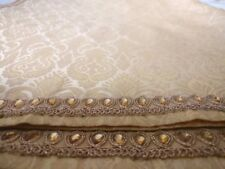 Indian Shawl/dupatta: handmade, brand new. Brocade with gorgeous rhinestone's!!