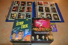 1976 & 1979 STAR TREK COMPLETE TRADING CARD SETS PLUS STICKERS & BOXES! NM!!!