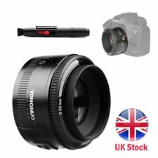 Yongnuo YN 50mm F/1.8 AF / MF Prime Fixed Lens for Canon 80D 7D II 6DII 800D UK