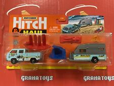 Mbx Wave Rider Volkswagen Transporter with Trailer 2021 Matchbox Hitch & Haul.