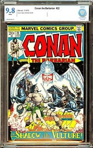 Conan the Barbarian 22 Cbcs cgc 9.8 WHITE