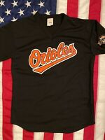 vintage baltimore orioles mesh batting practice jersey men Size L Mede In USA