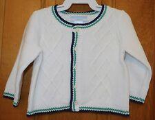 Nwt Janie and Jack Spring Splendor Cardigan Sweater Boy's Size 3-6 Month