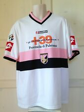 MAGLIA CALCIO PALERMO MATCH WORN ISSUED INDOSSATA PREPARATA SERIE A SHIRT