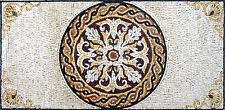 Majestic Carpet Archaic Floor Home  Decor Marble Mosaic GEO1011