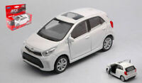 Model Car Kia Picanto Scale 1:3 4-1:3 9 diecast vehicles White collection