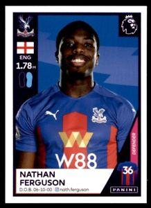 Panini Premier League 2021 - Nathan Ferguson (Crystal Palace) No. 178