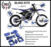 YAMAHA YZ250F BLUE BLING KIT 2009 - 2013 MX Bling Kits YZF YZ F 250 2010 2011