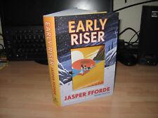 Jasper Fforde - Early Riser Signed Numbered Limited 1st 137/150 2018 fantasy new