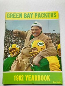 SCARCE 1962 GREEN BAY PACKERS YEARBOOK, SUPER CLEAN ESTATE FIND FREE SHIPPING