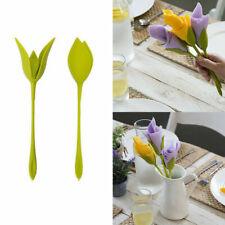 20 Stück Serviettenhalter Blumen Floral Green Design für die Tischdekoration