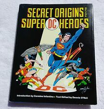 Secret Origins of the DC Super Heroes Hardcover Rare HC Superman Wonder Woman