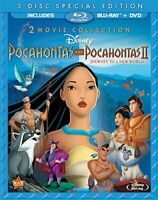 POCAHONTAS & POCAHONTAS II: JOURNEY TO A NEW WOLRD [Bluray]