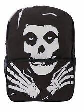 SKULL HEAD HANDS Backpack Rucksack School College Rock Punk Skull 3D Print Bag