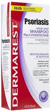 Dermarest Psoriasis Medicated Shampoo Plus Conditioner 8 Oz Eliminate Scalp Itch