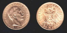Prussia 1900 LUSTROUS STUNNING 20 gold marks--KAISER WILHELM THE SECOND-Pre WW I